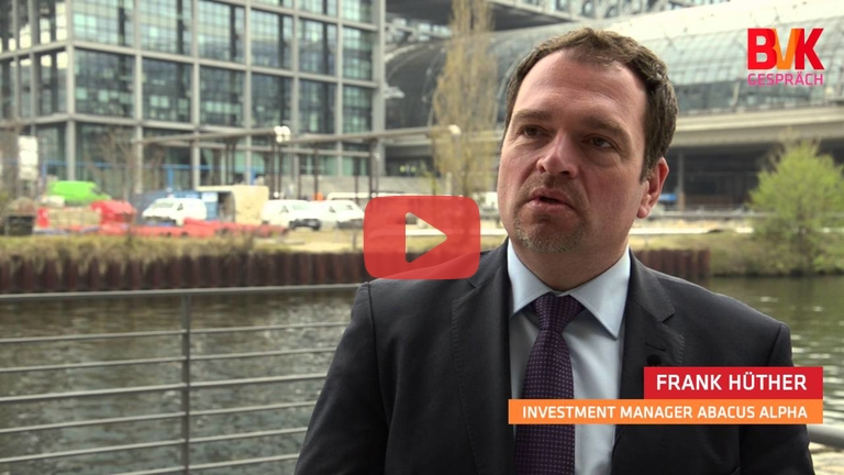 Embedded thumbnail for BVK im Gespräch: Frank Hüther, Investment Manager Abacus alpha